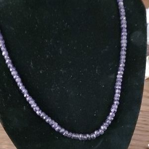 VINTAGE AFRICAN AMETHYST BEAUTIFUL NECKLACE